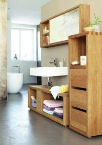 Badezimmer Simply Oak