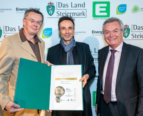 Energy Globe Styria Award 2019 / Foto @Werner Krug