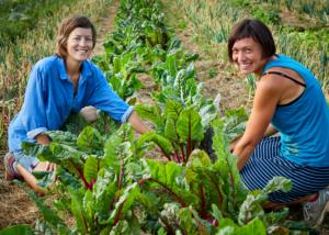 Almgrün Gemüsebäuerinnen Michaela Jancsy und Reingard Prohaska