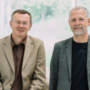 Kuno Haas und Reinhard Kepplinger (Inhaber und Geschäftsführer Grüne Erde)