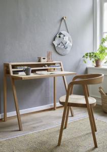 Schreibtisch Pureto und Stuhl Asensio
