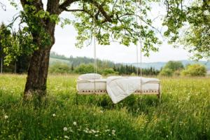 Grüne Erde-Naturmatratze
