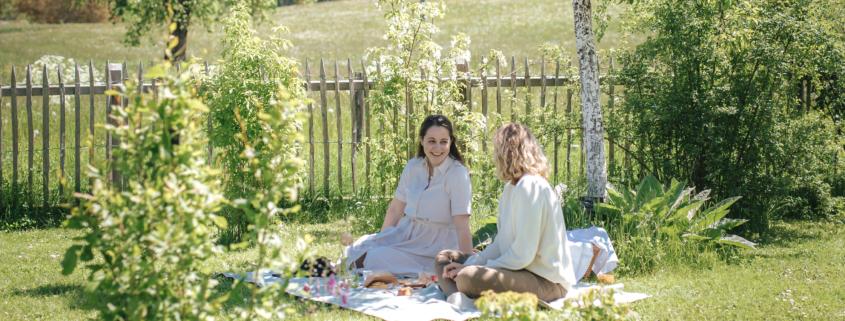 Grüne Erde-Welt – Picknick